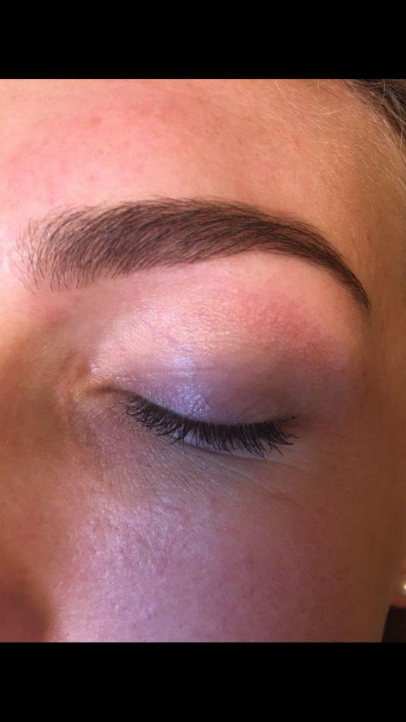 ogen na de opmaak met make up bij Beauty Day