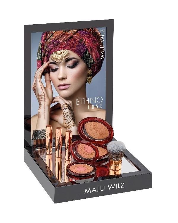 Bronzing powder en Natuurlijke glow lipbalm, make up van Malu Wilz