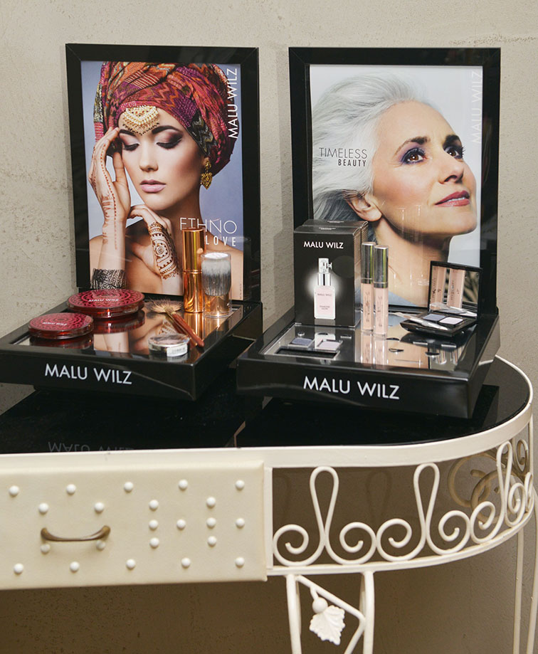 malu wilz bij beauty day xperience